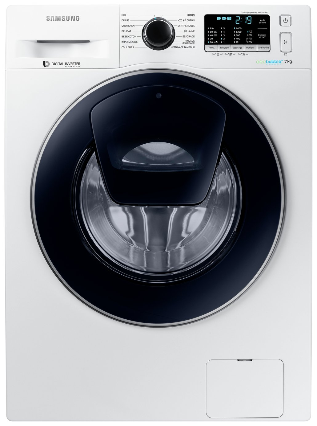 Image of Samsung AddWash WW70K5410UW 7Kg 1400 Spin - Washing Machine