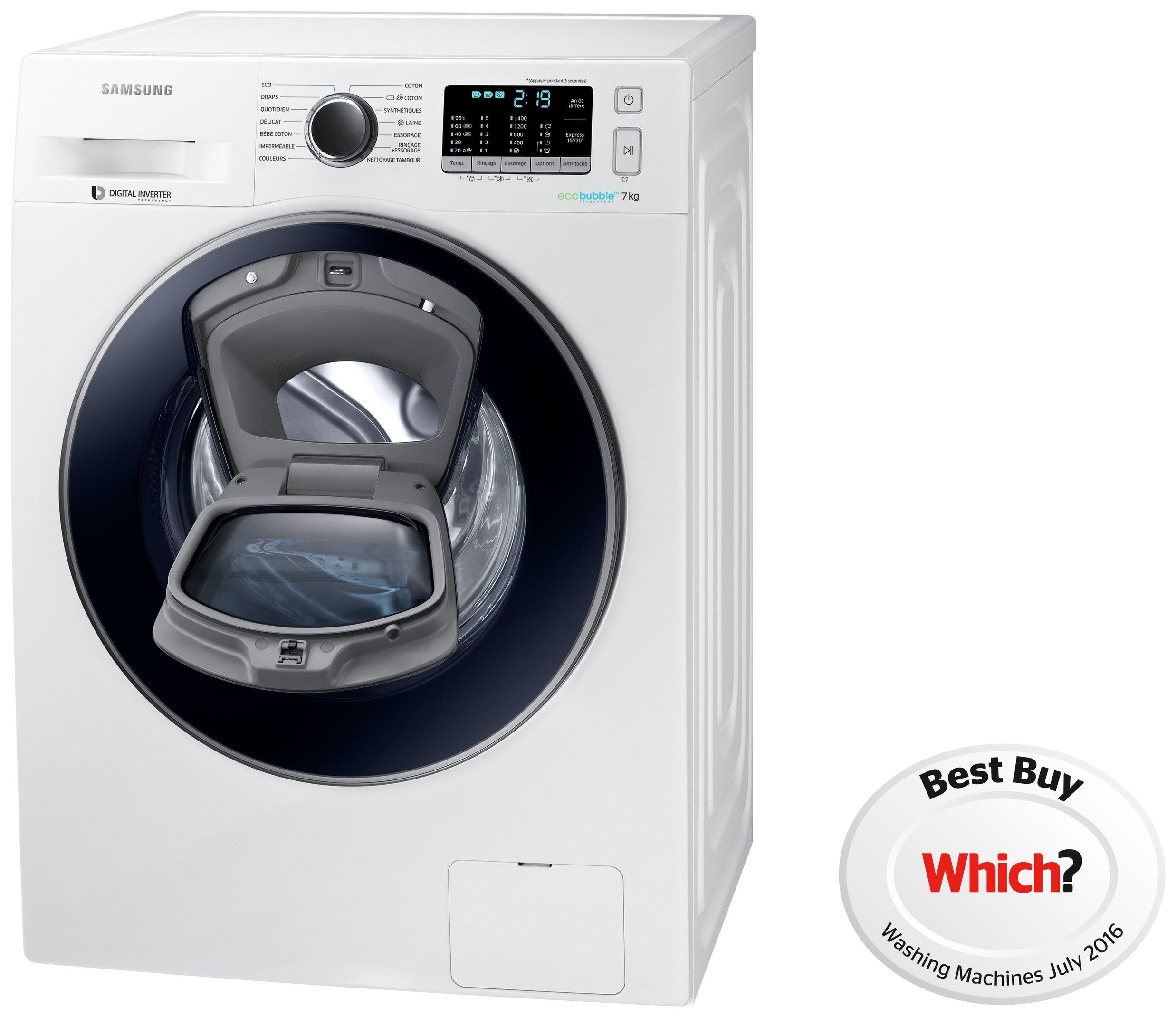 Samsung AddWash WW70K5410UW 7Kg