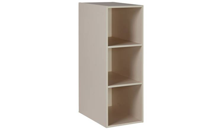 Argos Home Atlas Internal 3 Cube Shelving Unit - Cream