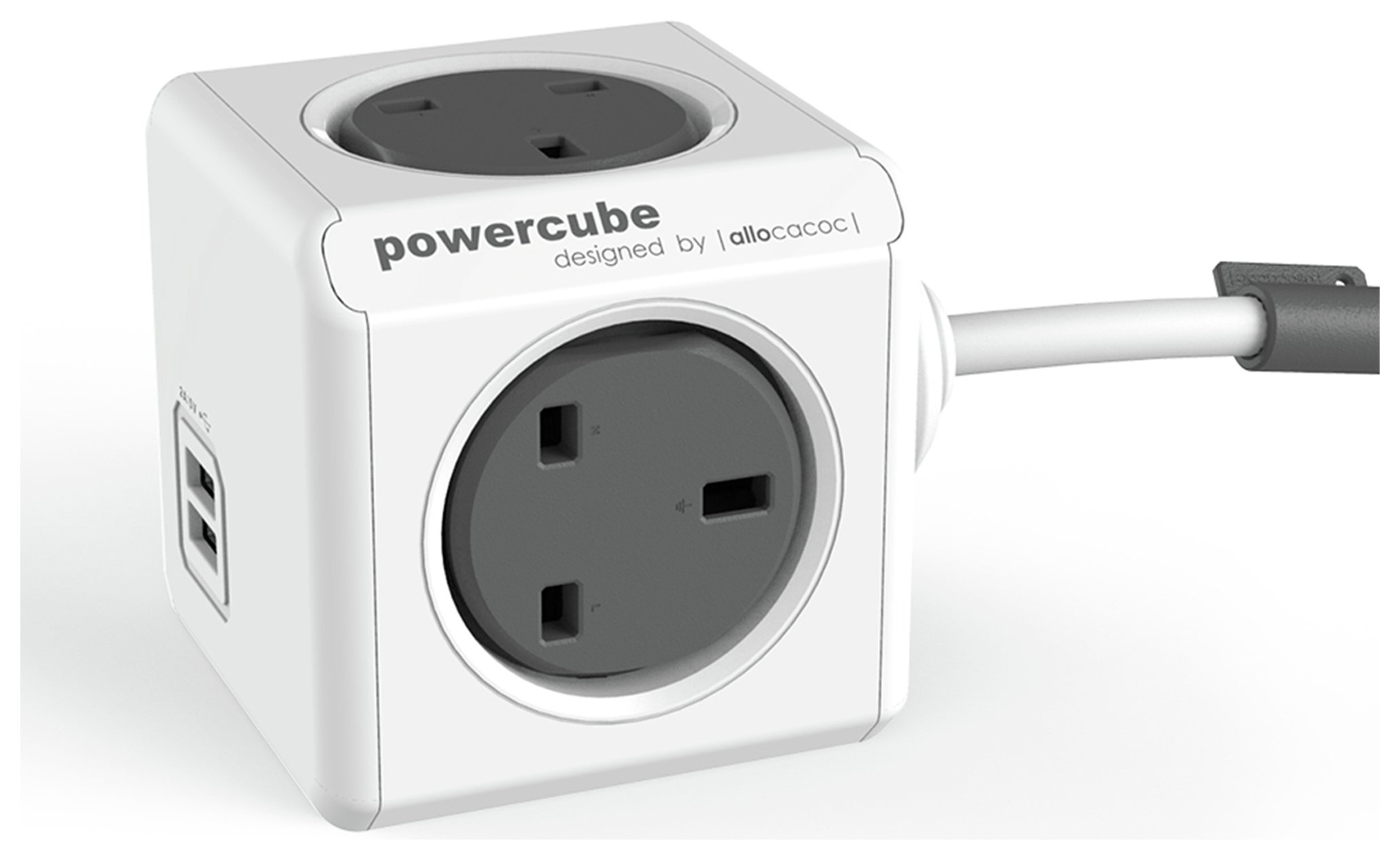 Image of Allocacoc - PowerCube Extended USB 15 Metre Cable