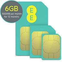 EE 500mb Data SIM