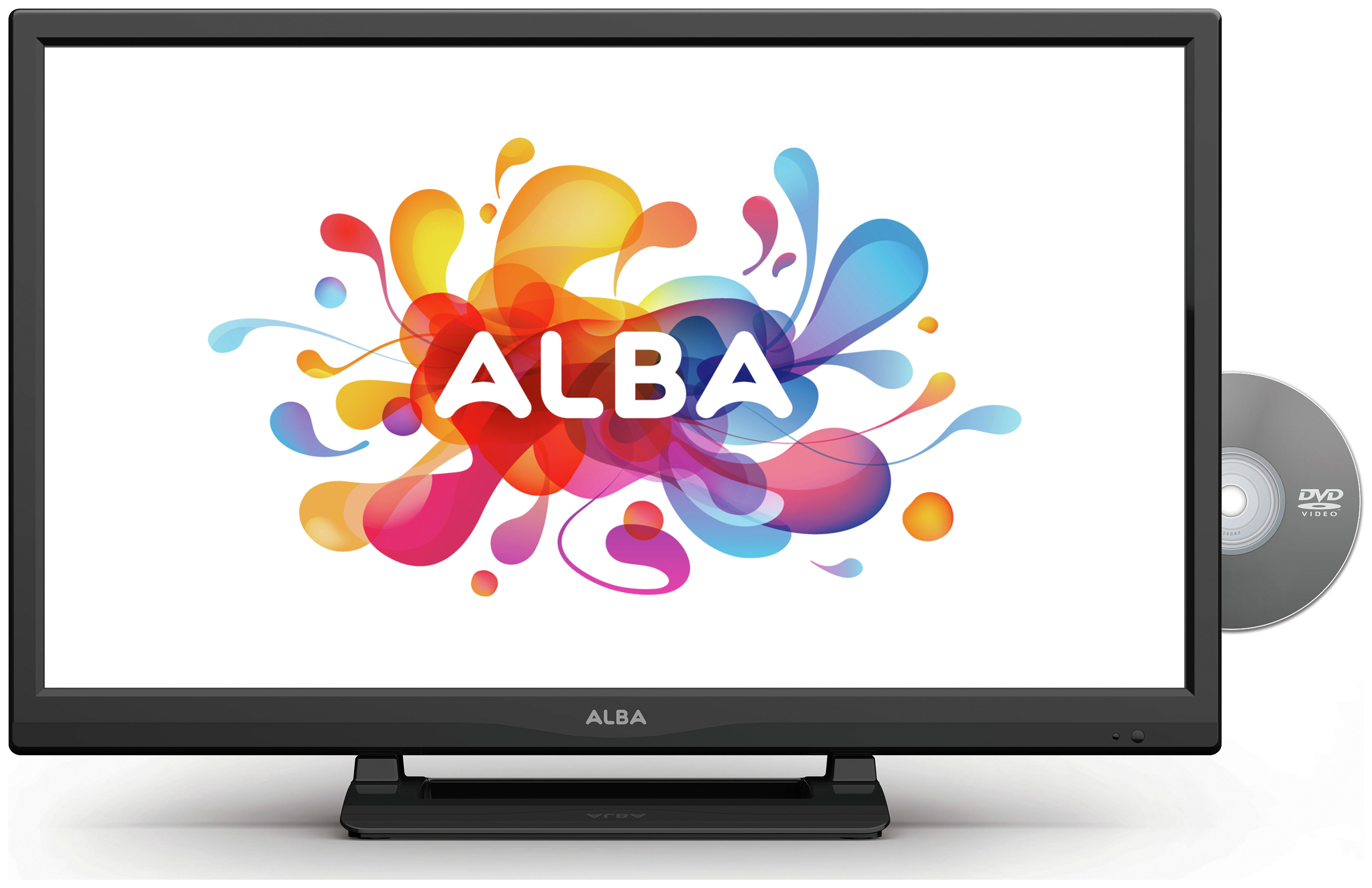 Image of Alba - 24 Inch - HD Ready LED TV/DVD Combi.