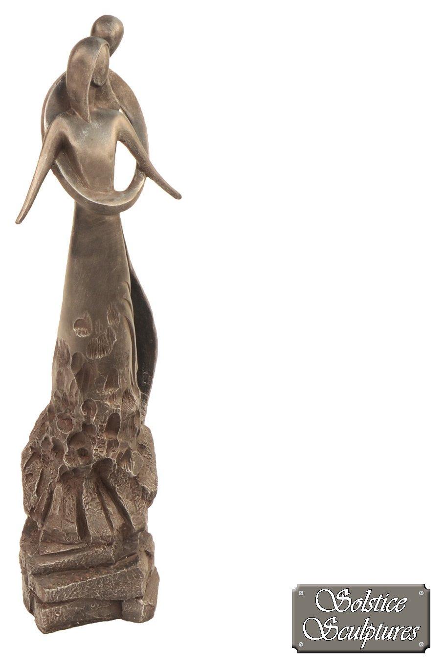 Solstice Sculptures - Embrace Lead Effect - Garden Sculpture lowest price