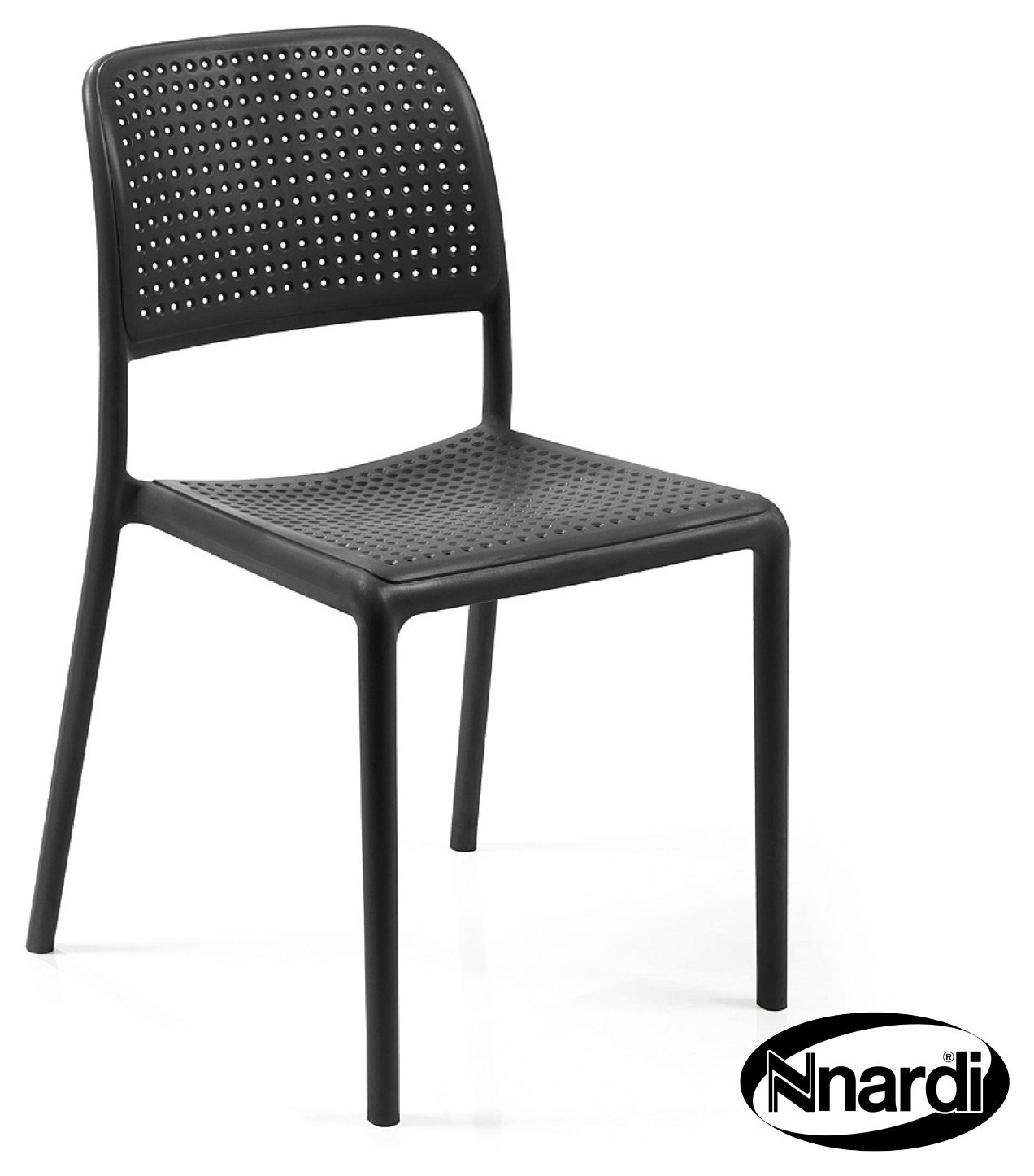 Nardi Anthracite Bistro Chair - Pack of 2. lowest price