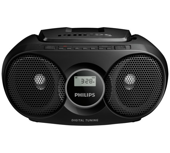 buy philips az215b 05 boombox black at your online shop for personal cd players. Black Bedroom Furniture Sets. Home Design Ideas