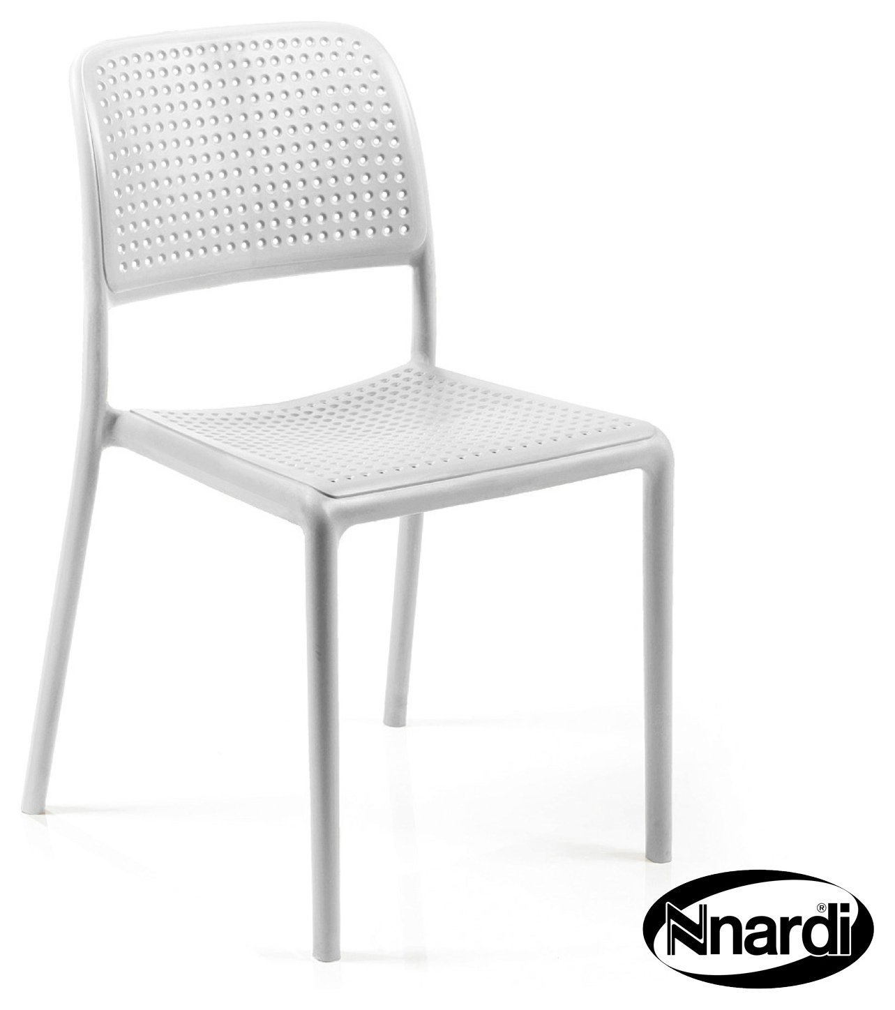 Nardi White Bistro Chair - Pack of 2. lowest price