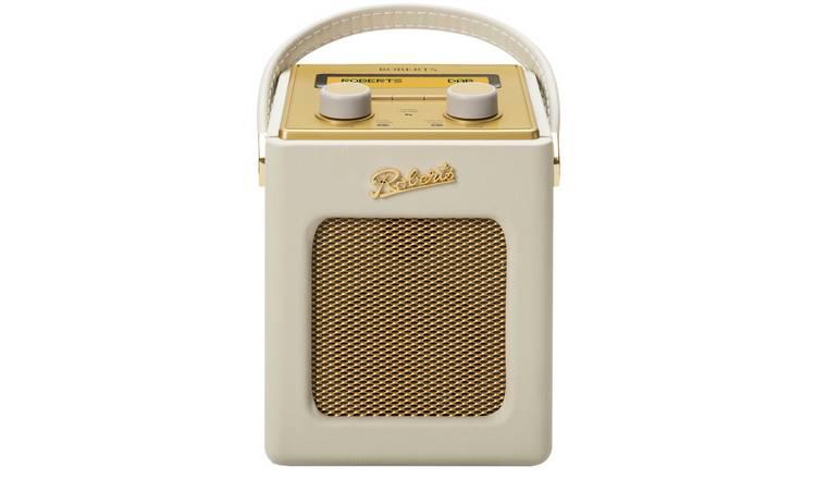Roberts Revival Mini Dab Radio   Cream by Argos