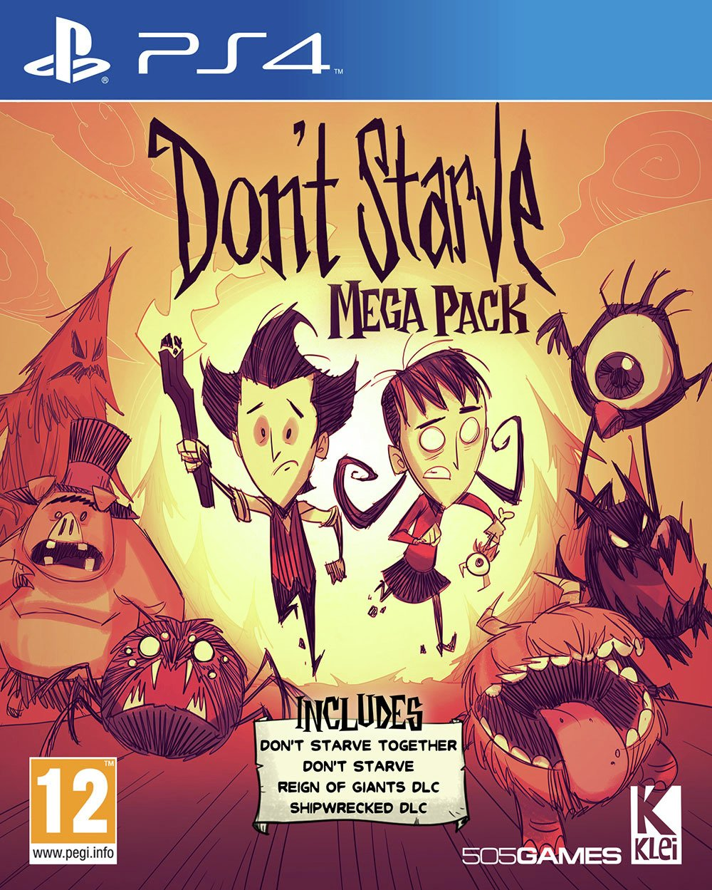 Image of Don't Starve Mega Pack PS4 Pre-Order Game