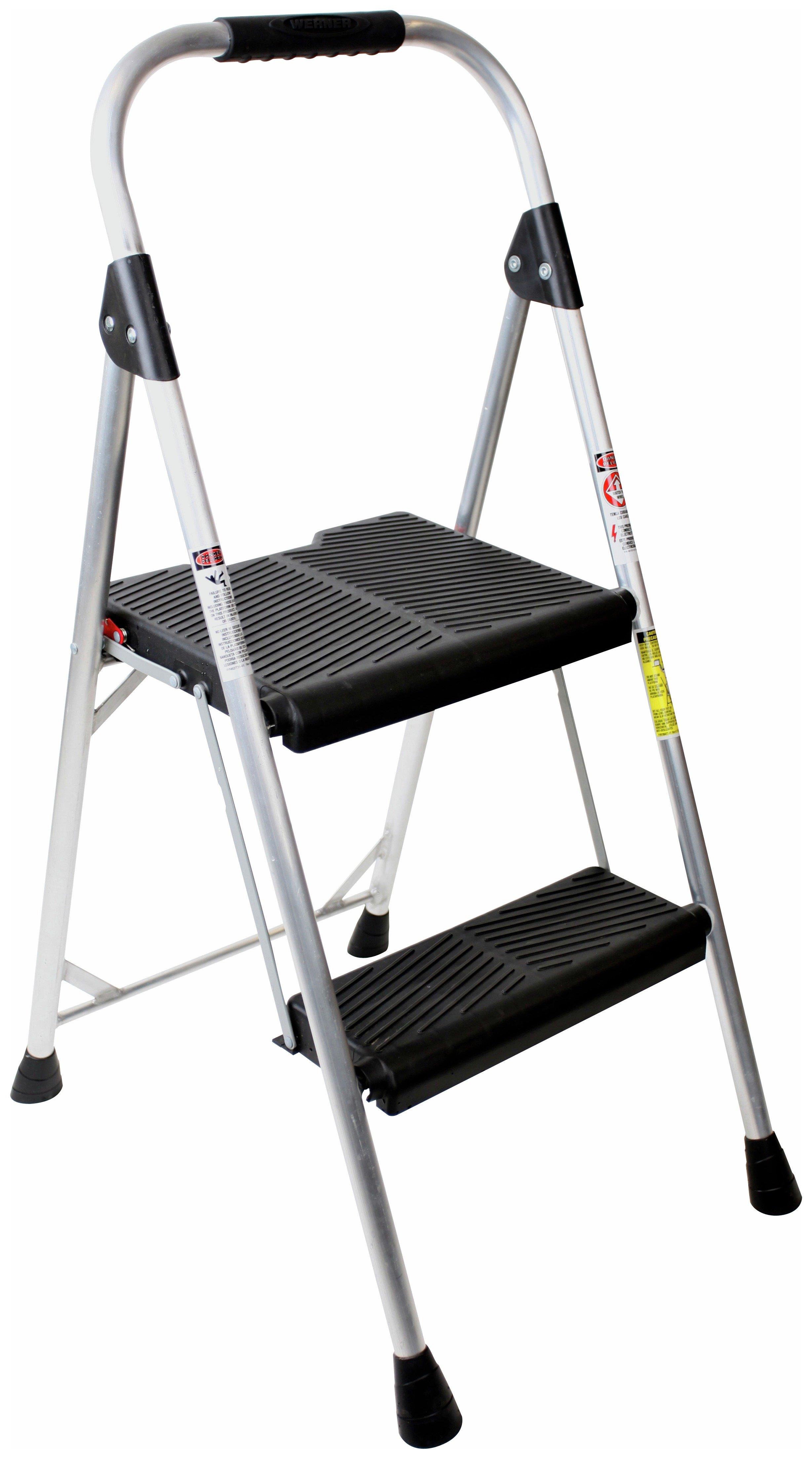 Abru Wide 2 Step Lightweight Stepstool 2.29m *SWH