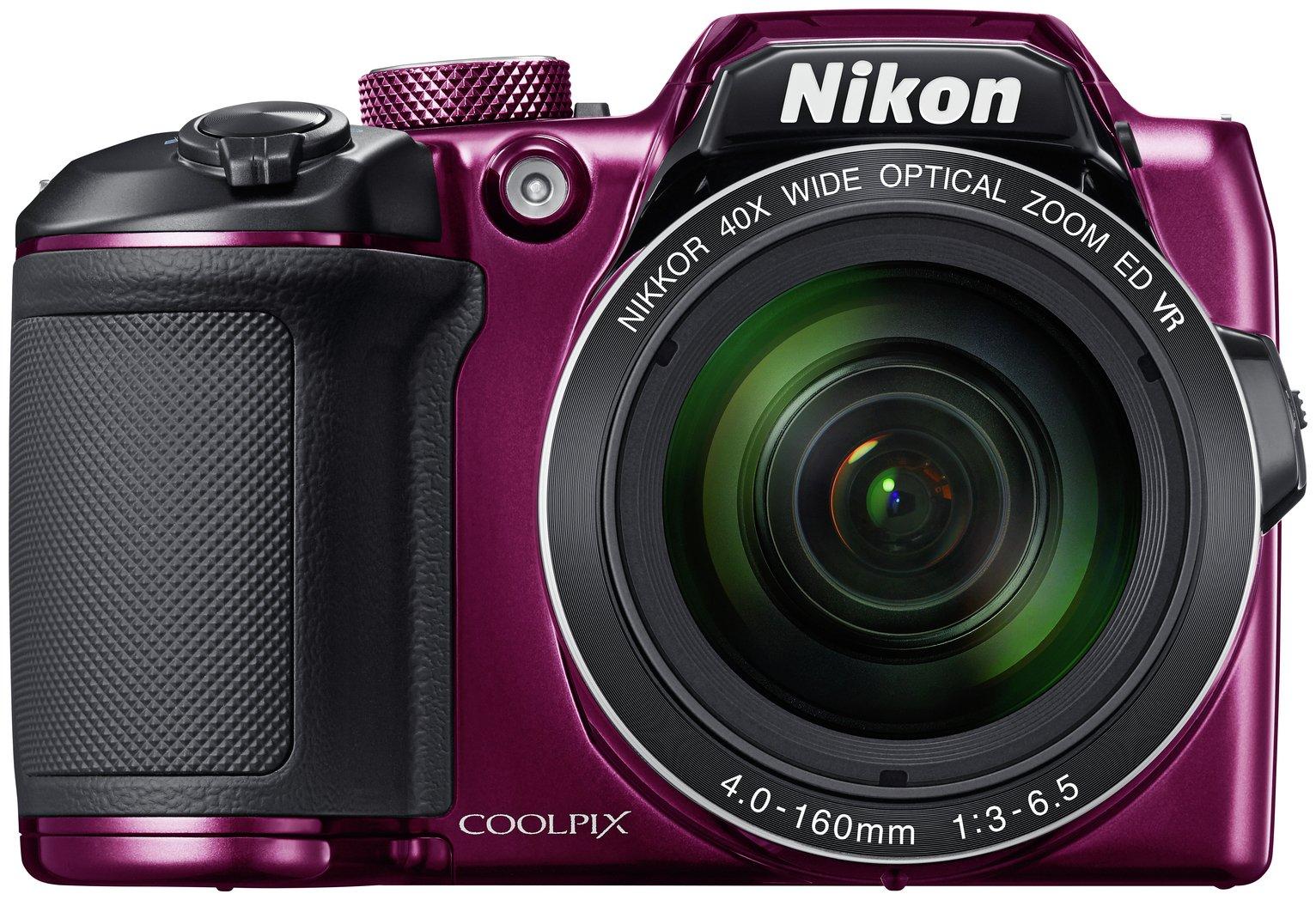 Nikon - B500 16MP 40x - Zoom - Bridge Camera - Plum