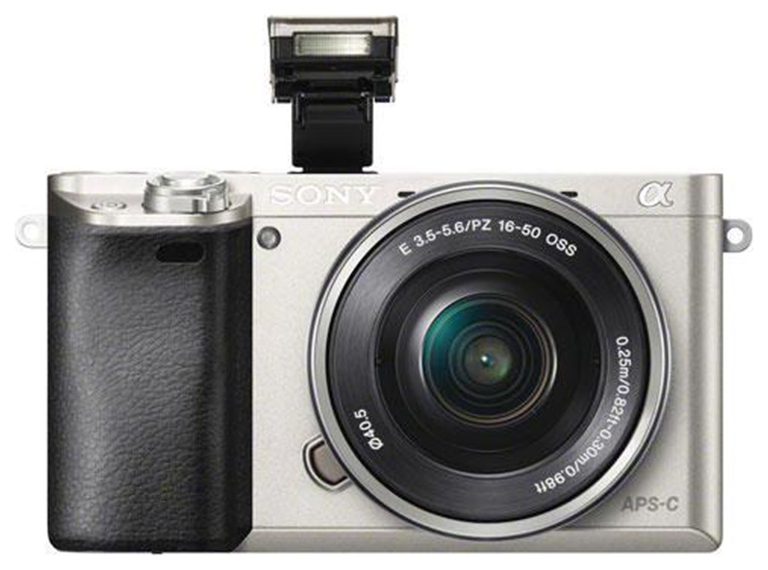 Sony A6000 Mirrorless Camera With 16-50Mm Lens Silver