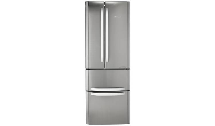 Hotpoint FFU4DX American Fridge Freezer - Stainless Steel