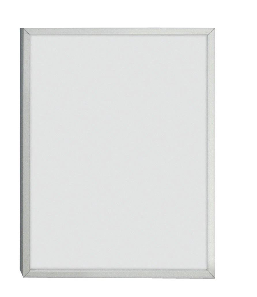 Image of Habitat Aluminus 18x24cm Picture Frame - Silver