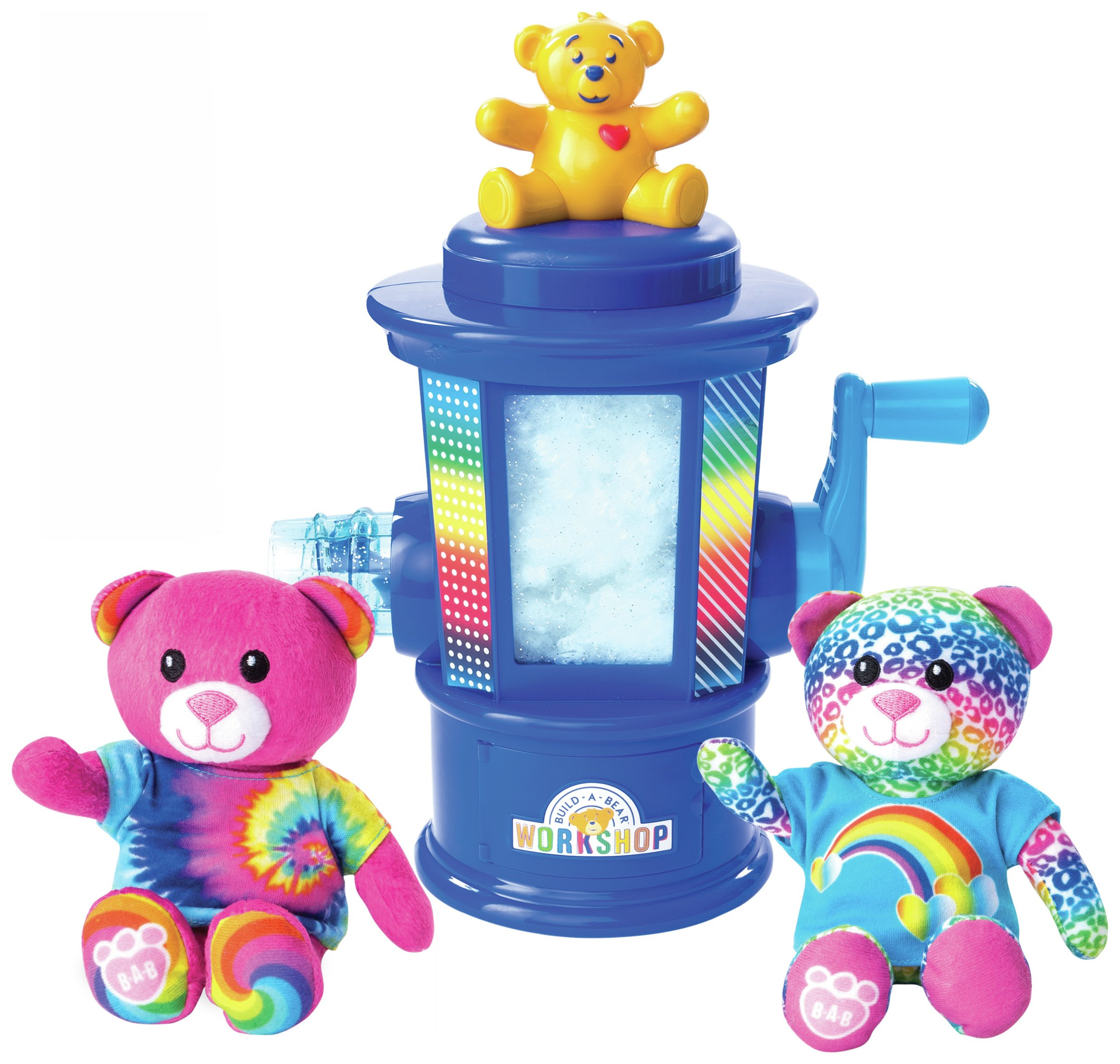 Image of Build A Bear Stuffing Station Rainbow Edition