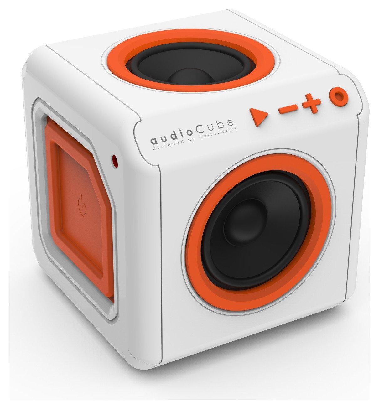 Image of Allocacoc PowerCube AudioCube Portabl - White