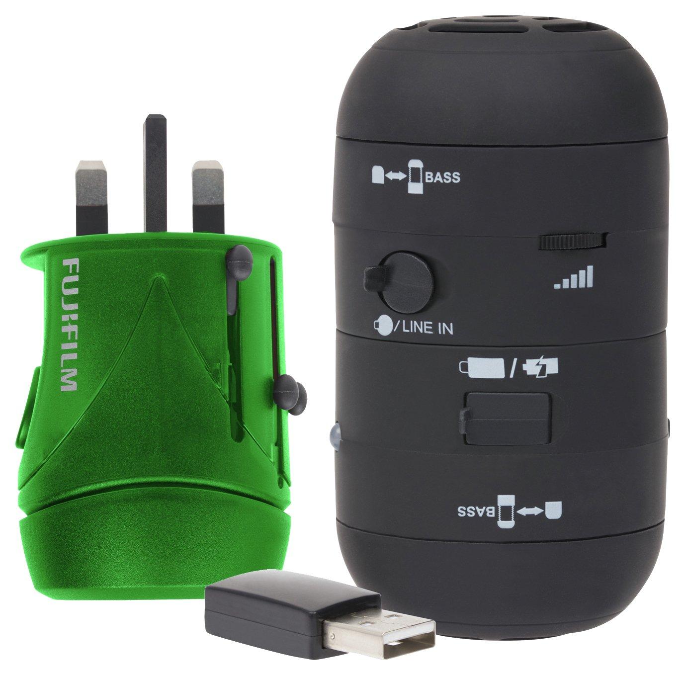 Fuji Travel Kit Including Adaptor with USB.