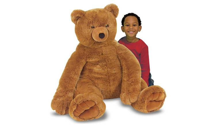 Melissa & Doug Jumbo Brown Teddy Bear Soft Toy