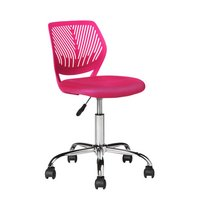 Mesh Gas Lift Height Adjustable Office Chair - Pink
