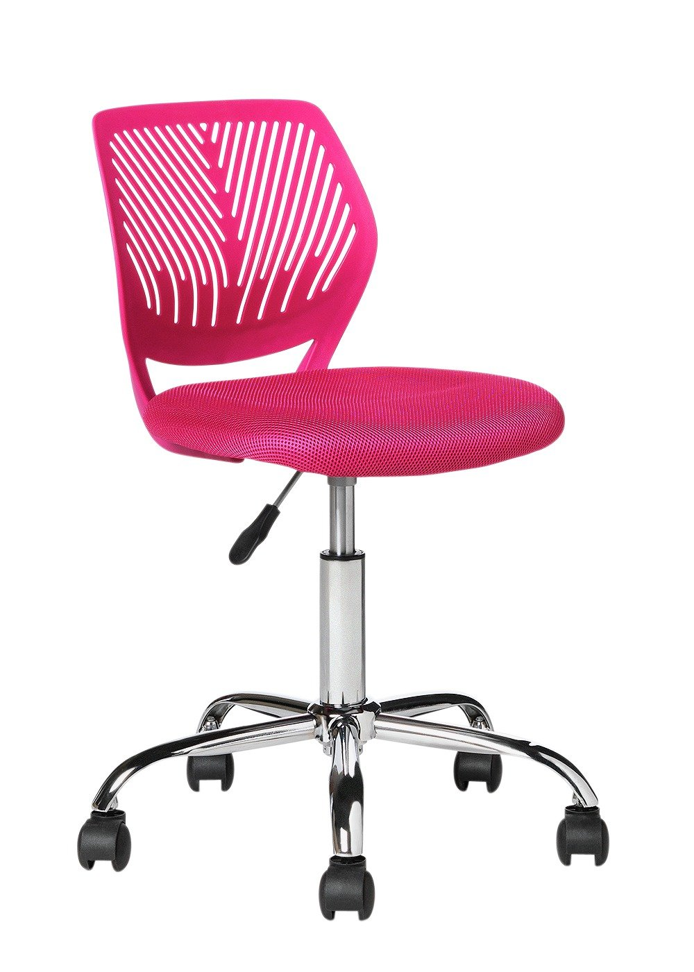 Mesh Gas Lift Height Adjustable Office Chair   Pink554/8330