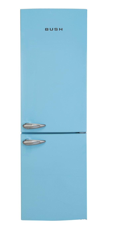 Image of Bush - BFFF60 Retro - Fridge Freezer - Blue
