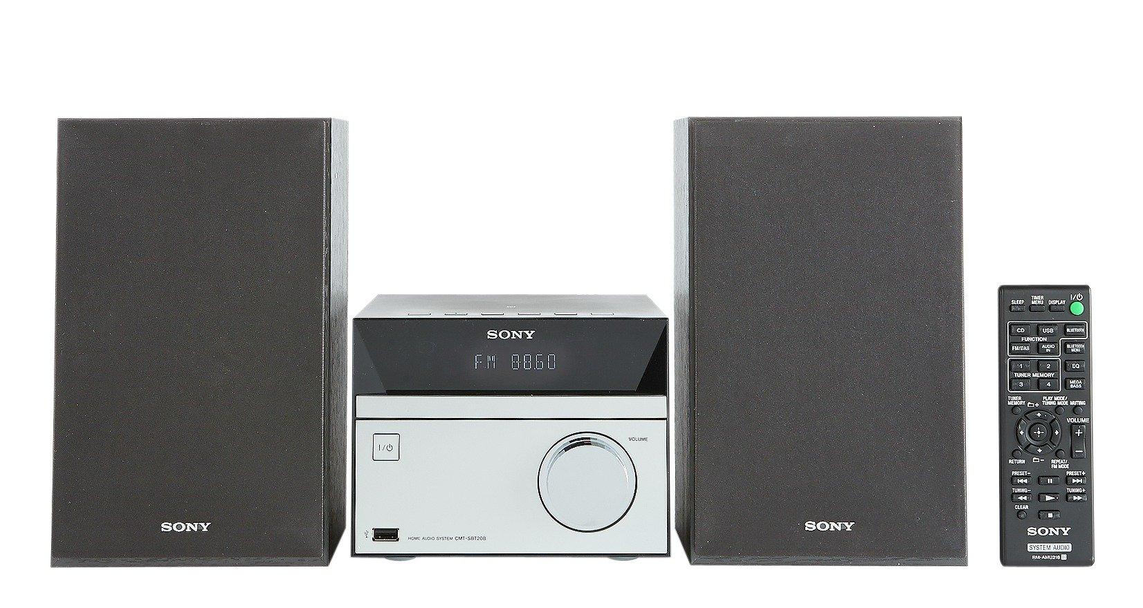 Sony - CMTS20MK2 Micro HiFi System - Black/Silver