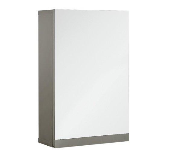 buy hygena gloss wall cabinet grey bathroom cabinets. Black Bedroom Furniture Sets. Home Design Ideas