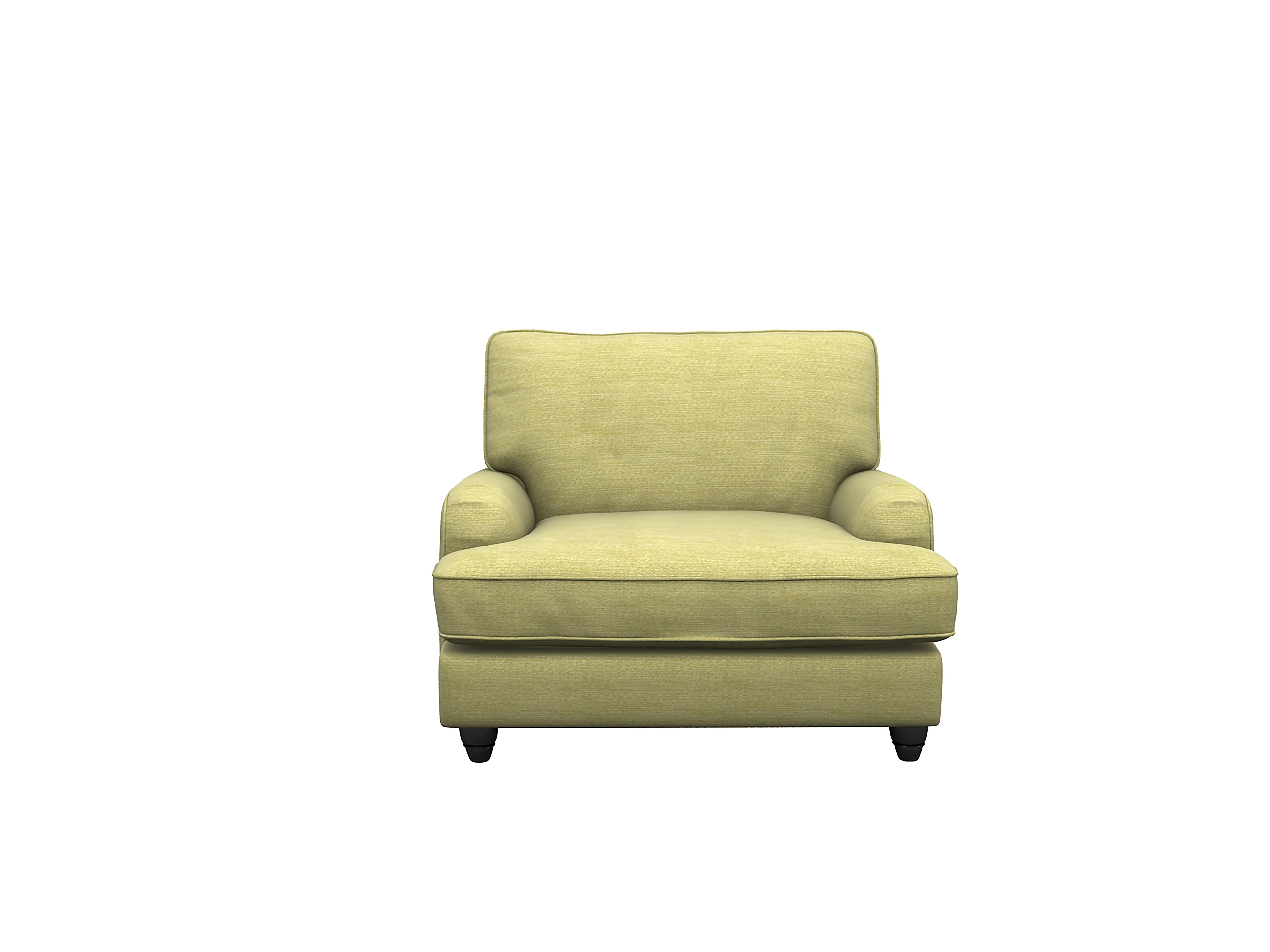 Image of Heart of House Adeline Fabric Chair - Lime Green
