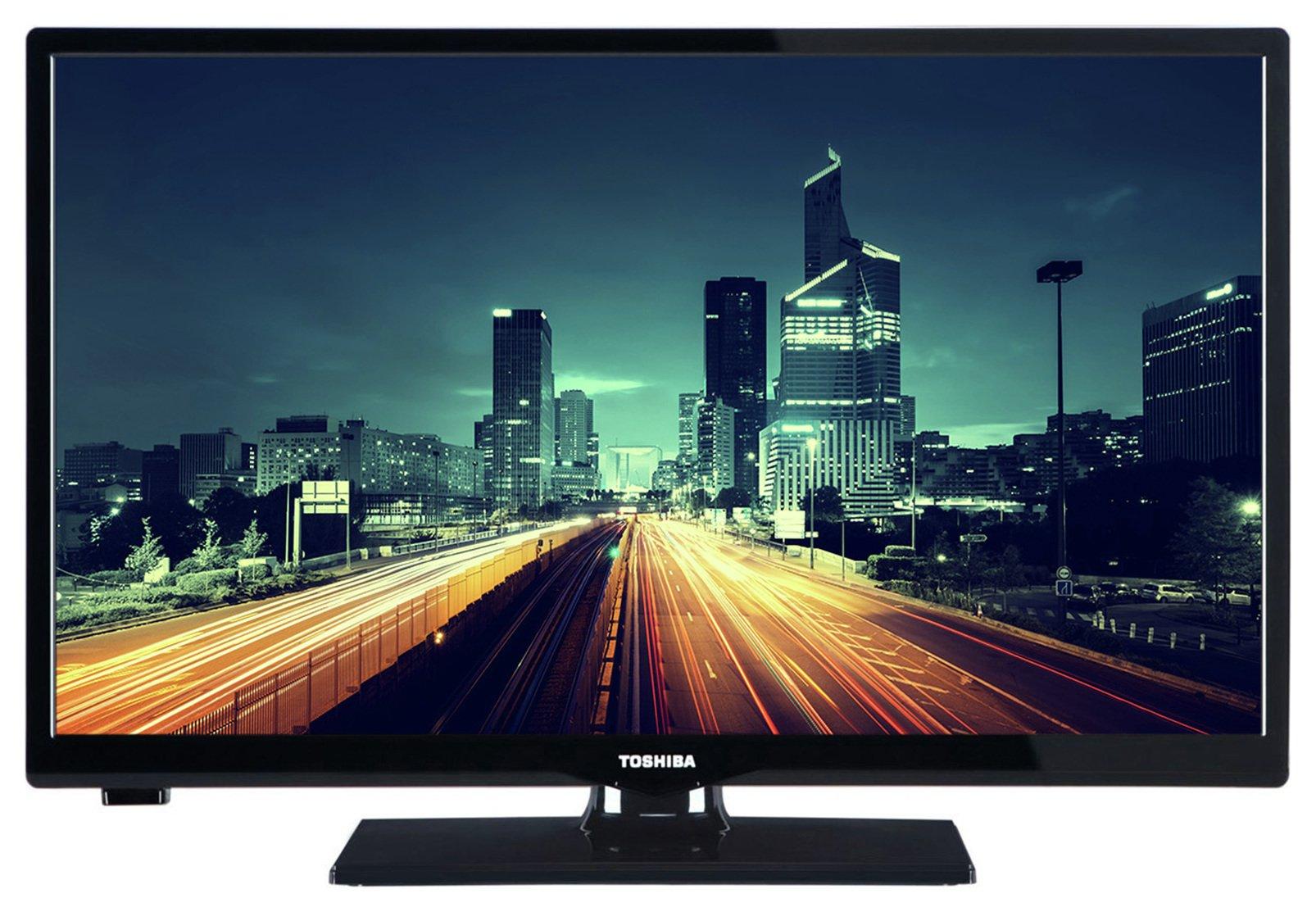 Toshiba Toshiba - 24 Inch - 24D1633DB - HD Ready LED TV/DVD Combi.