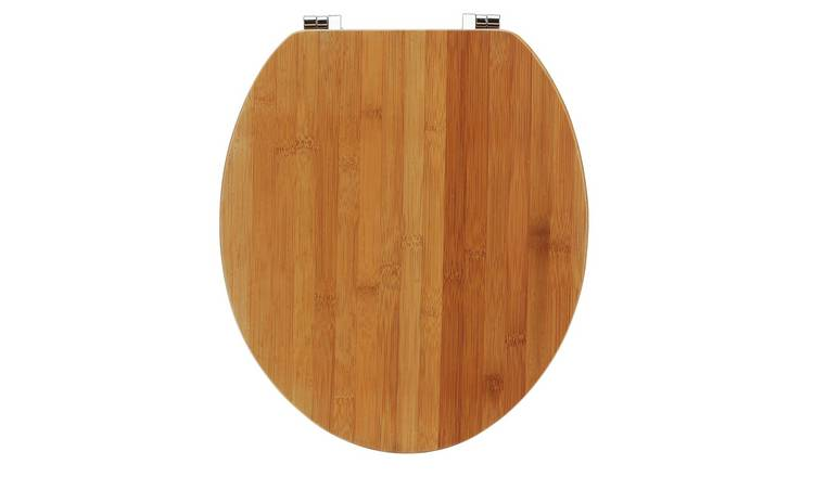 Cool Buy Argos Home Solid Bamboo Toilet Seat Natural Toilet Seats Argos Unemploymentrelief Wooden Chair Designs For Living Room Unemploymentrelieforg