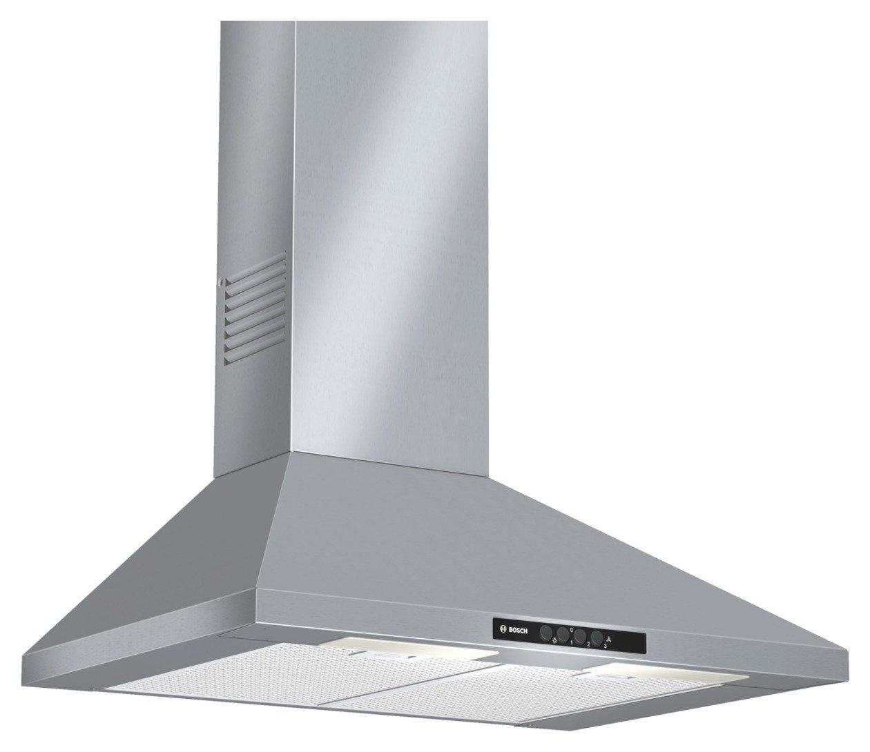 Bosch - DWW07W450B 70cm - Cooker Hood - Brushed Steel