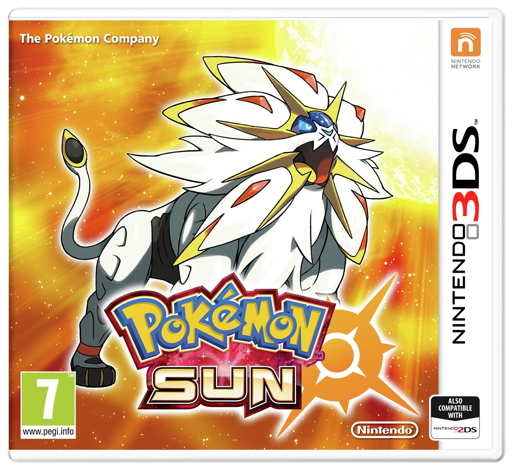Nintendo Pokemon Sun Nintendo 3DS Game.