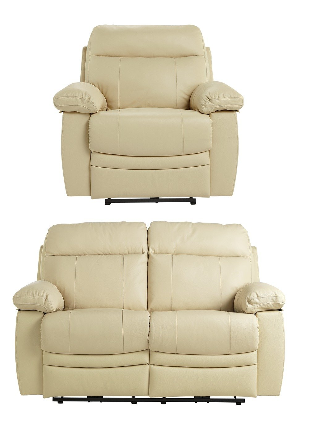 Argos Home - New Paolo Reg Power Recliner - Sofa/Chair - Ivory