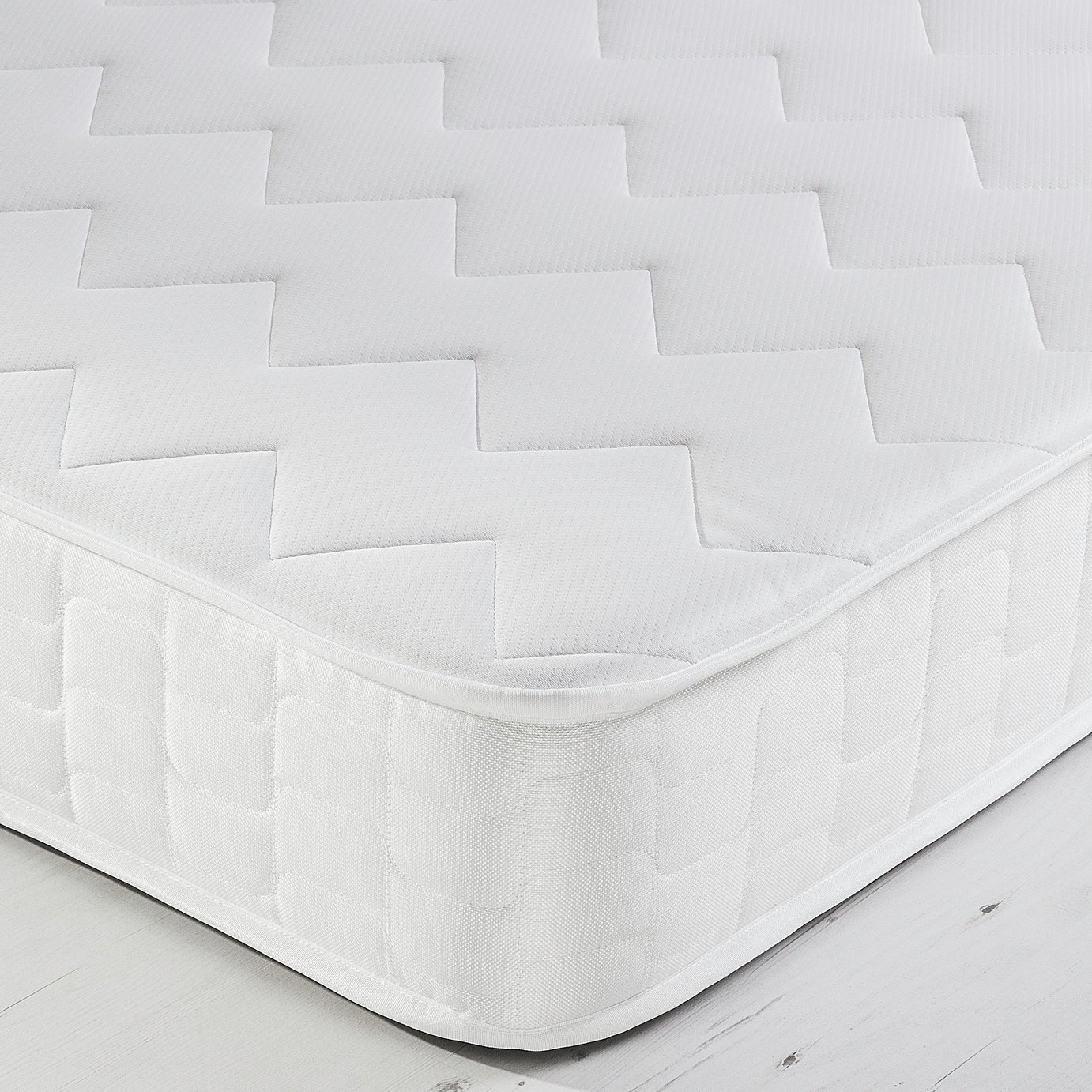 Argos Home Elmdon Sprung Memory Rolled Small Double Mattress