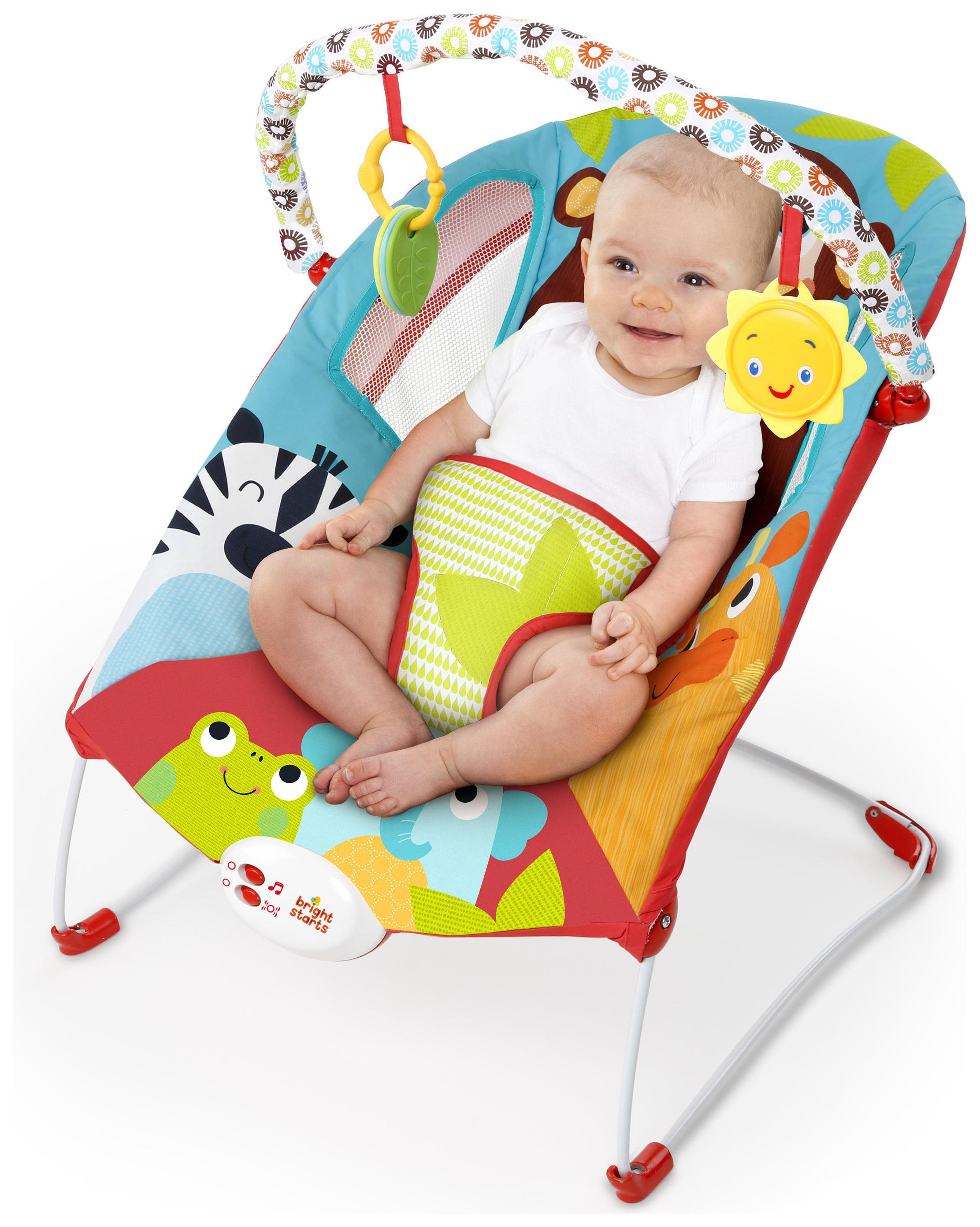 Buy Bright Starts Pack of Pals Baby Bouncer at Argoscouk Your