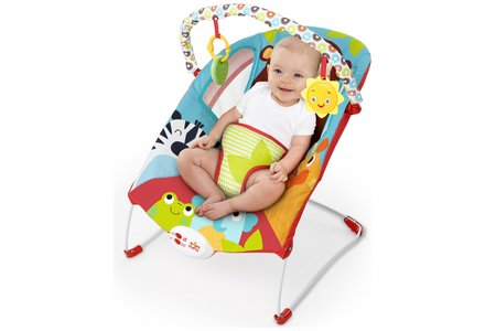 Bright Starts Pack of Pals Baby Bouncer.