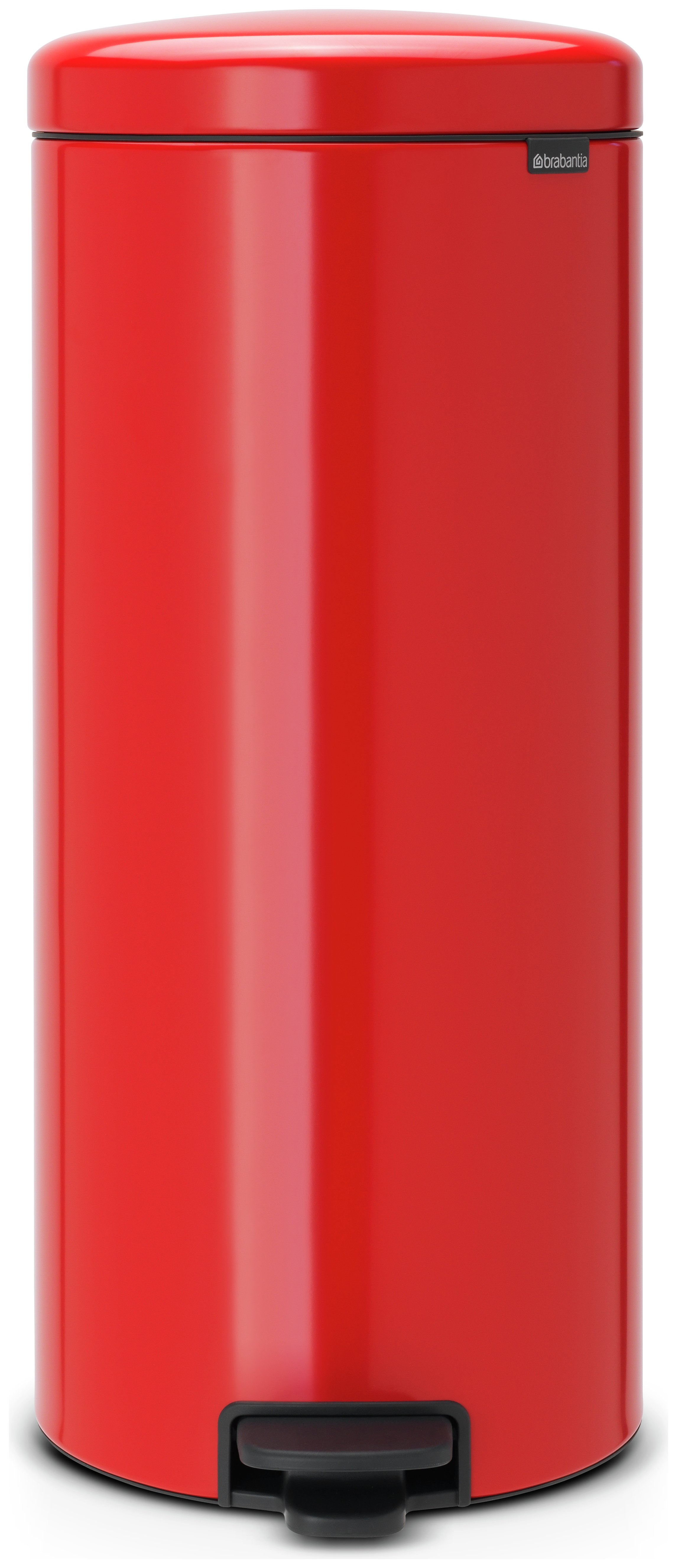 Image of Brabantia newIcon 30 Litre Pedal Bin ??? Red.