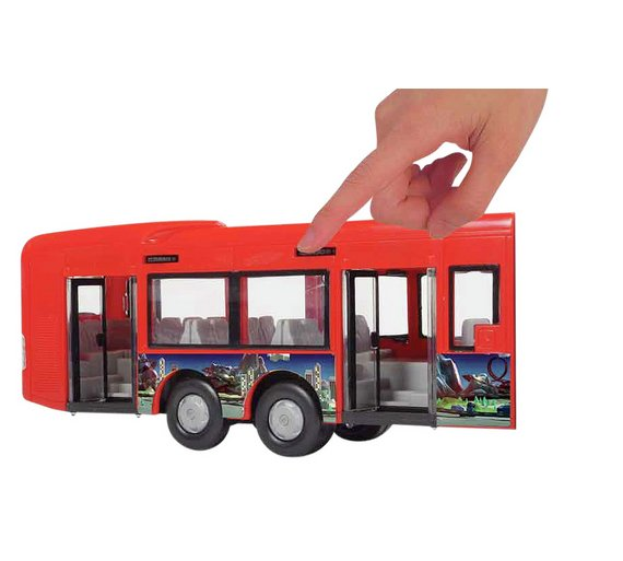buy chad valley express 46cm bus toy cars vehicles and sets argos