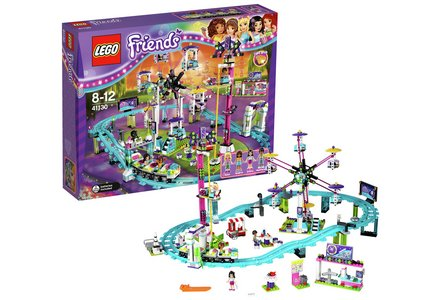 LEGO Friends Amusement Roller Coaster Playset - 41130.