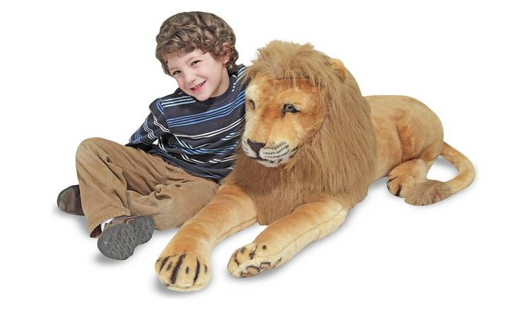 Melissa & Doug Lion Soft Toy