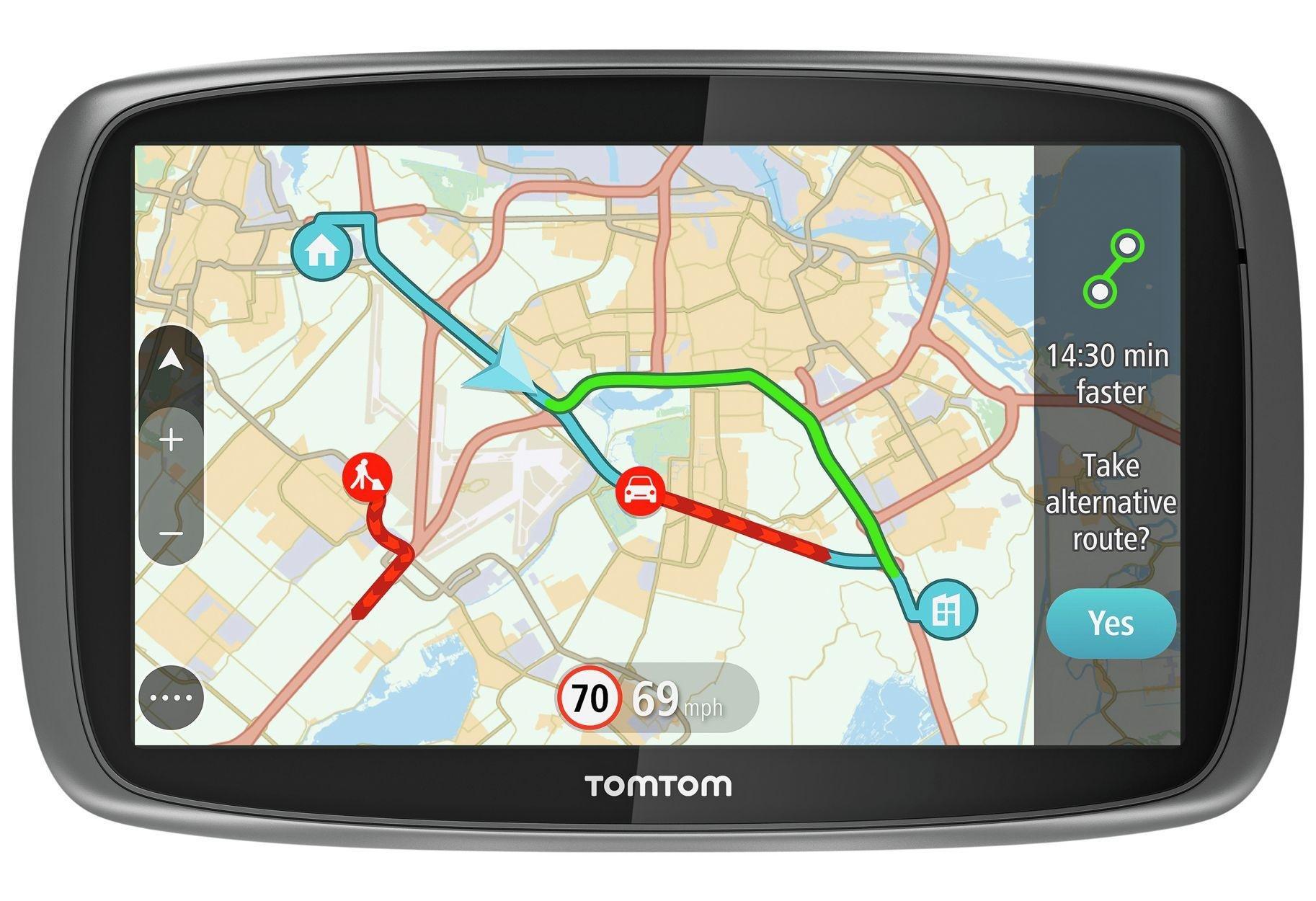 TomTom TomTom - Sat Nav - Go 50 5 Inch - Full Europe Lifetime Maps & Traffic