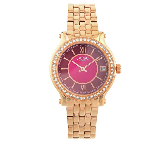 buy rotary ladies rose gold bracelet watch and perfume set at rotary ladies rose gold bracelet watch and perfume set556 8516