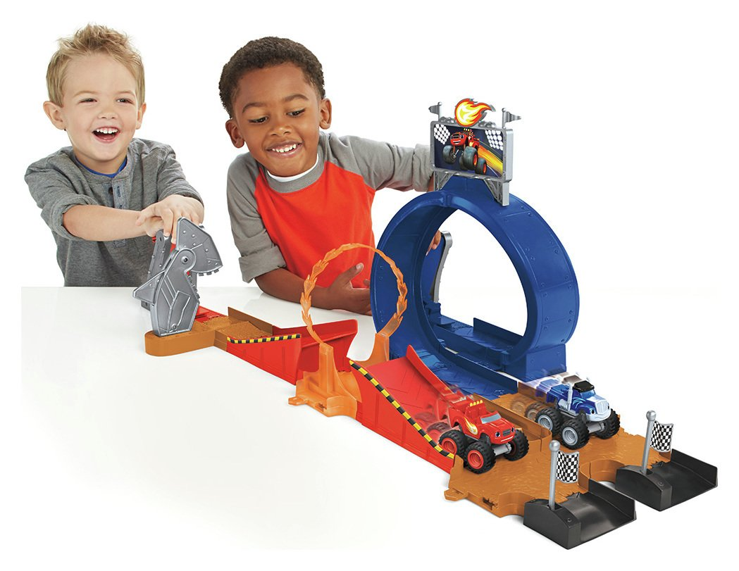 Image of Fisher-Price - Blaze and the Monster Machines Monster Playset
