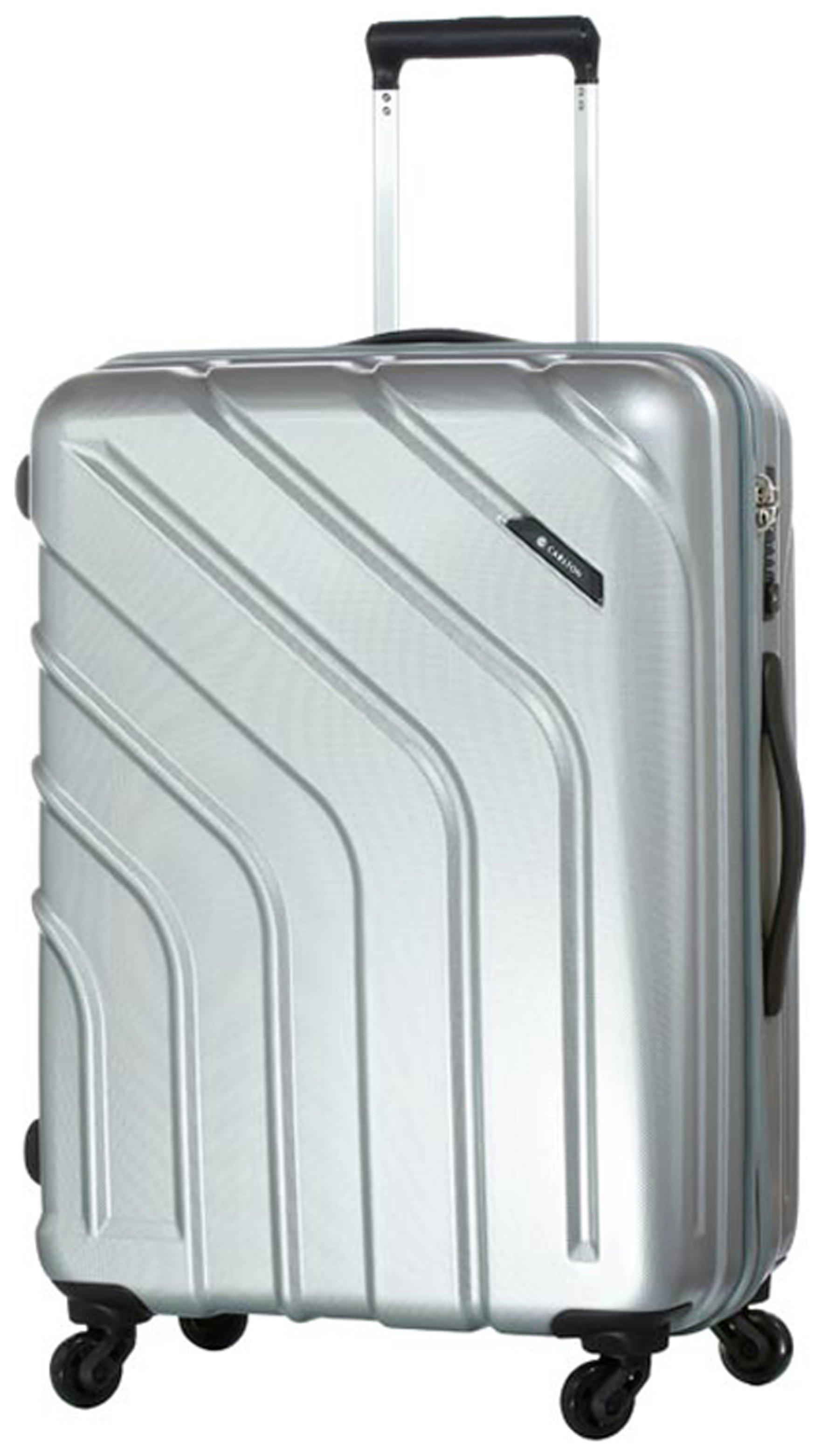 Image of Carlton - Stellar Medium 4 Wheel Trolley Case - Silver