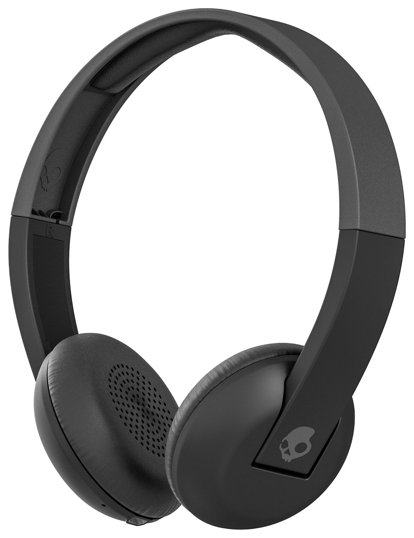 Skullcandy Skullcandy Uproar Wireless On-Ear Headphones - Black/Grey.