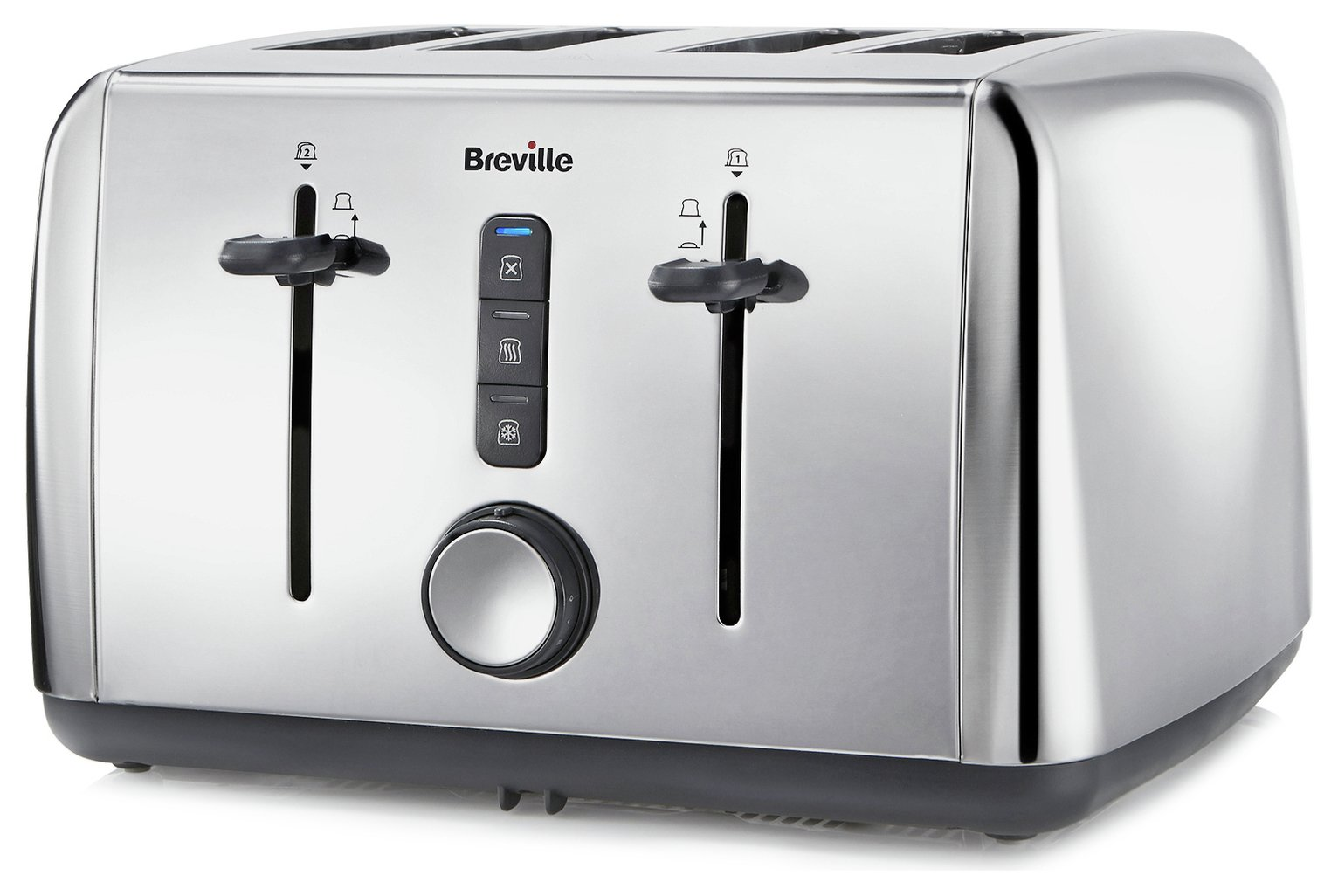Breville - 4 Slice Toaster - Stainless Steel