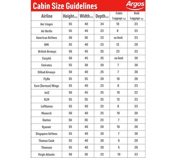 Buy Carlton Stellar Large 4 Wheel Trolley Case - Silver at Argos ...