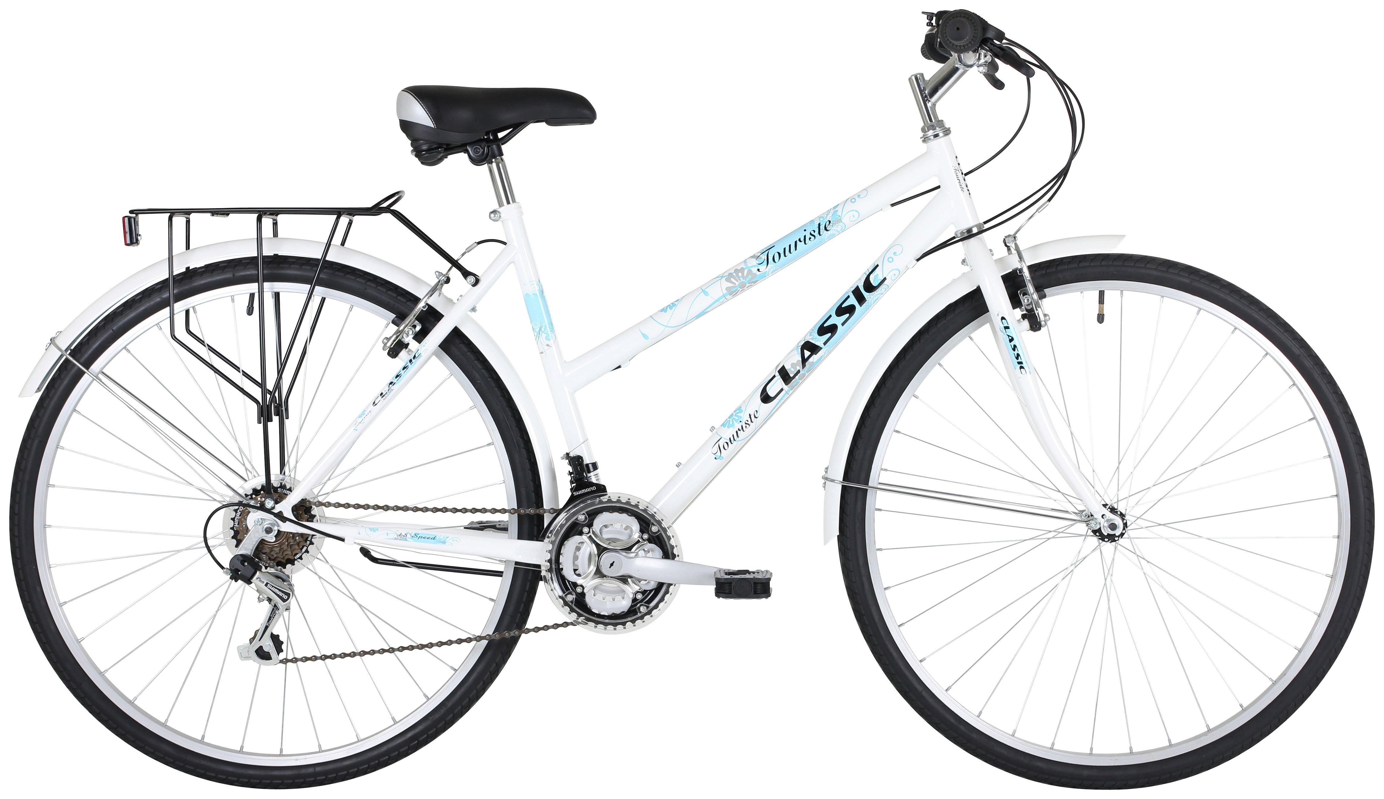 Image of Classic Touriste 700C Commuter Hybrid Bike - Womens