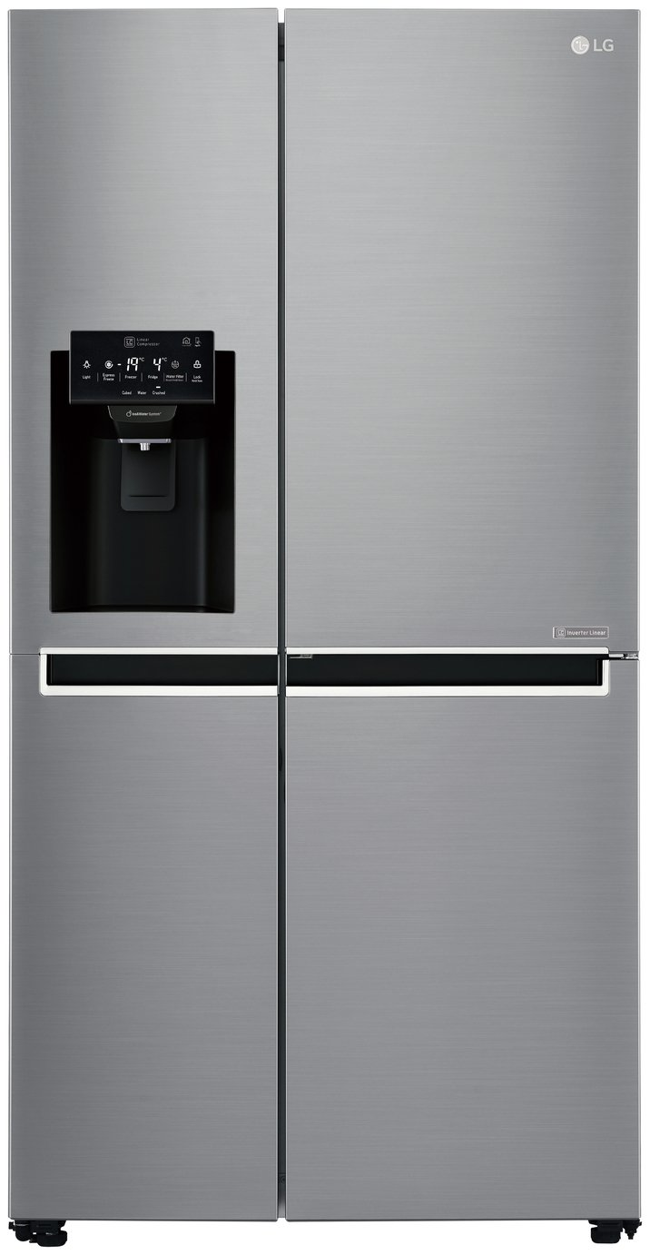LG GSL760PZXV American Fridge Freezer - Silver Best Price, Cheapest Prices