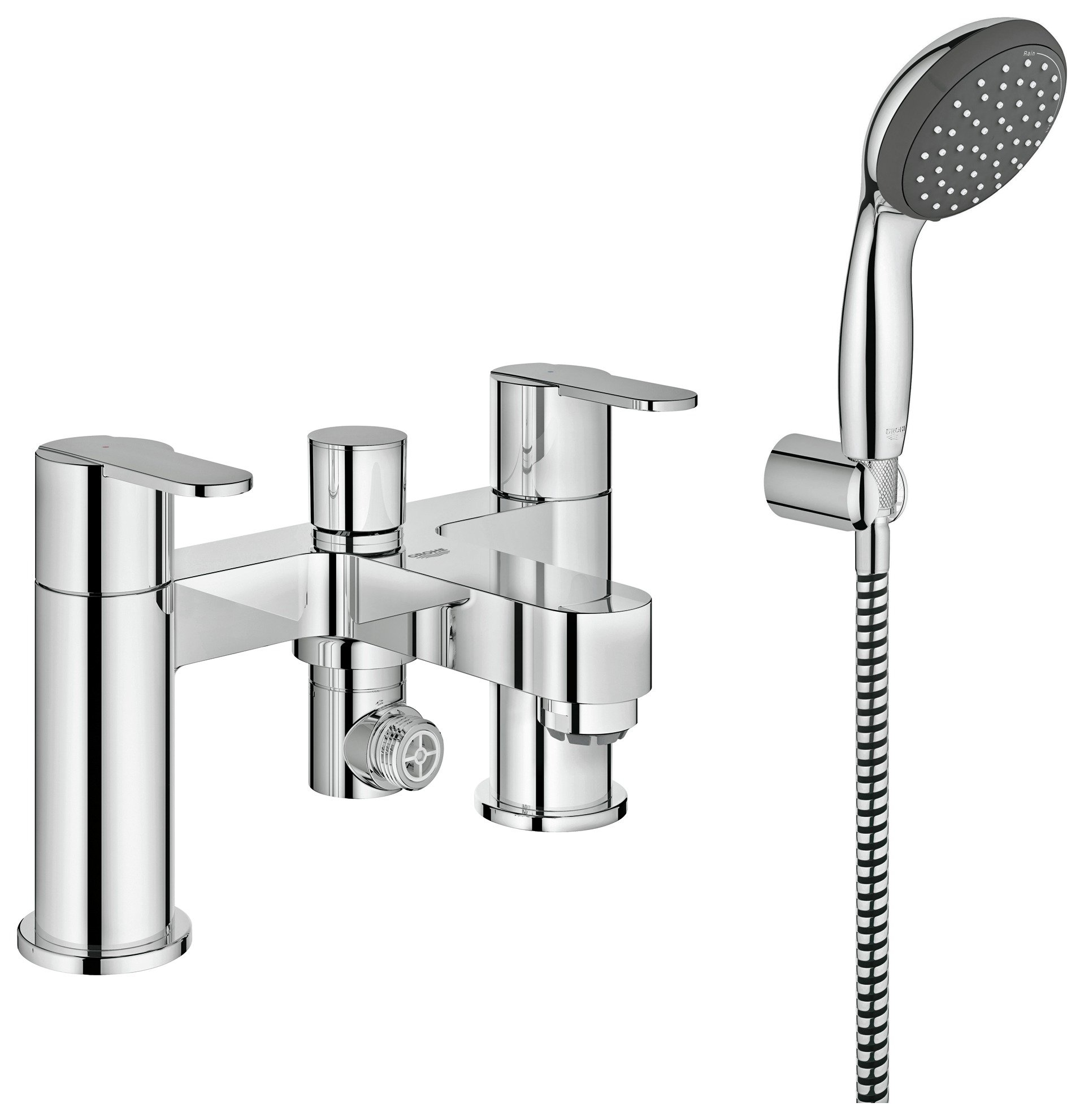 grohe get bath and shower mixer set gay times uk. Black Bedroom Furniture Sets. Home Design Ideas
