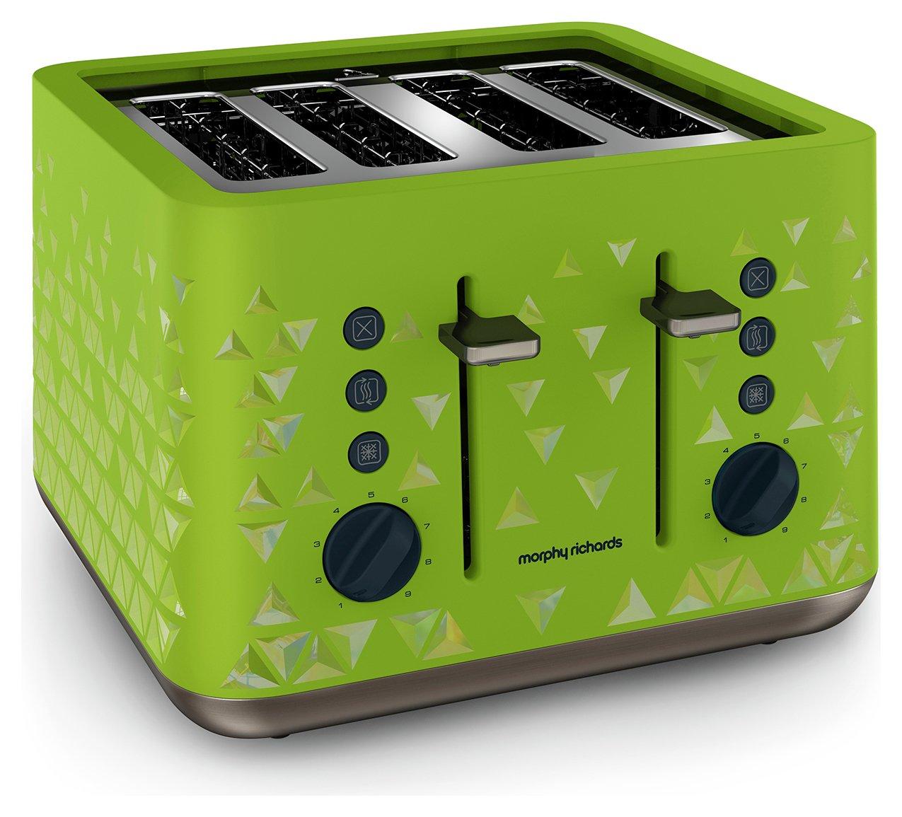 Morphy Richards Prism Toaster - Green.